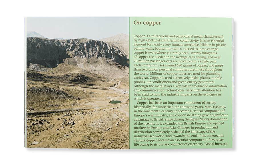 Copper Geographies. Ignacio Acosta